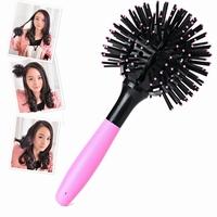 3D Round Hair Extension Detangling Brush