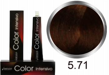 Carin  Color Intensivo nr 5,71 lichtbruin kastanje as