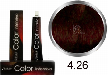 Carin Color Intensivo No. 4.26 mid-brown violet red