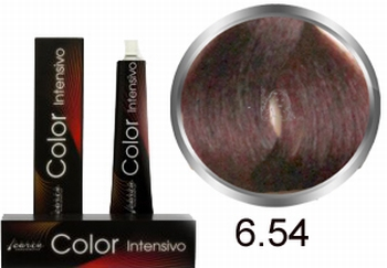 Carin Color Intensivo Nr. 6.54 dunkelblondes Mahagonikupfer