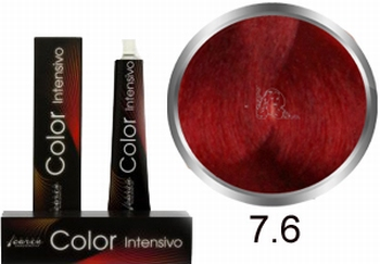 Carin Color Intensivo No. 7.6 middle blonde red