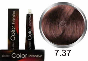 Carin Color Intensivo No. 7.37 middle blonde gold chestnut