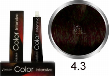 Carin Color Intensivo No. 4.3 middle-brown gold
