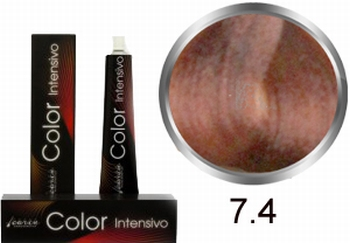 Carin  Color Intensivo nr 7,4 middenblond koper