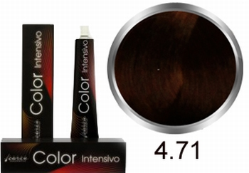 Carin Color Intensivo No 4.71 middle brown chestnut ash