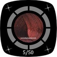 Diapason Haircolor Cream, color 5/50 (licht intensroodbruin)
