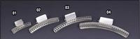 """Aluminium wave clamp. Size 2"""" (Picture 1)"""