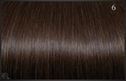 Ring On (I-tip) extensions, Kleur 6 (Chocoladebruin), 50 cm