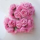 Rose PE foam Ø 2.2 cm, Color: Pink