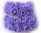 Rose PE foam Ø 2.2 cm, Color: Purple