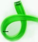Clip-in synthetisch, kleur: Licht groen