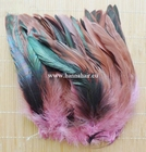 Feather fazant, kleur: rose