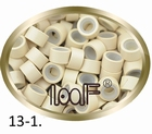 Micro Ring aluminium siliconen type,*13-1 Platinum Blond