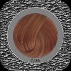 LK-7/36. - Kleur: Midden goudkoper blond