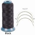 Hairweaving garen, kleur Zwart (2285 mtr)