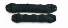Hair Bun Roll, large, color: Black