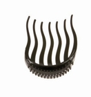 Pony Tail Comb, Color: Black