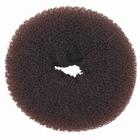 Hair Bun Ring, large, color: Brown