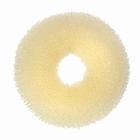 Hair Bun Ring, large, color: Blonde