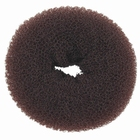 Hair Bun Ring, small, color: Brown