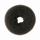 Hair Bun Ring, small, color: Black
