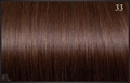 Classic Weft 50/55 cm, kleur 33 (diepbruin mahonie)