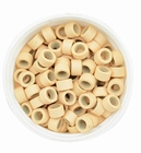 Micro Ring aluminium screw type, kleur *13-Blond