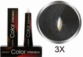 Carin  Color Intensivo nr 3x donkerbruin extra dekkend