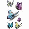 3-D Butterfly Body tattoo
