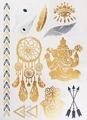 Metallic Body tattoo, Esila