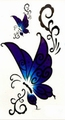 Butterfly Body tattoo