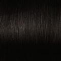 Human Hair extensions straight 40 cm, 0,5 gram, kleur: 1