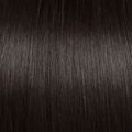 Human Hair extensions straight 50 cm, 0,8 gram, kleur: 2