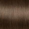 Human Hair extensions wavy 50 cm, 0,8 gram, Color: 6