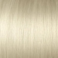 Very Cheap weft straight 40/45 cm - 50 gram, color: 1001ASH