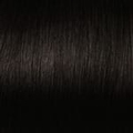 Human Hair extensions curly 50 cm, 1,0 gram, color: 1B