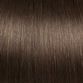 Human Hair extensions curly 50 cm, 1,0 gram, color: 4