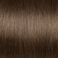 Human Hair extensions curly 50 cm, 1,0 gram, color: 6