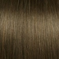 Human Hair extensions curly 50 cm, 1,0 gram, color: 8