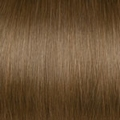 Human Hair extensions curly 50 cm, 1,0 gram, color: 12