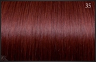 Eurosocap Classic extensions, Kleur 35 (Intens rood) 40 cm.