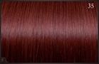 Eurosocap extensions, Kleur 35 (Intens rood) 50 cm.