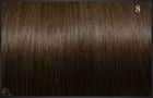 Eurosocap extensions, Kleur 8 (Bruin) 50 cm.