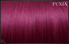 EuroSo.Cap Crazy color extensions, 50-55 cm.-Fucsia