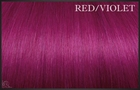 EuroSo.Cap Crazy color extensions, 50-55 cm. (red/violet)