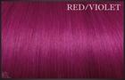 EuroSo.Cap Crazy color extensions, 50-55 cm. Red/Violet