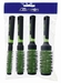 Round Styler brushes set, color Green (4)