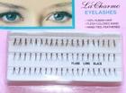 Eyelash extensions, Flare Long Black, 12 mm.