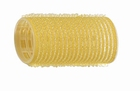 Velcro curlers  Yellow Ø32 mm.