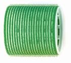 Velcro curlers  Green Ø60 mm.